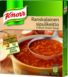 Knorr Ranskalainen Sipulikeitto - francia hagymaleves - 2x52g